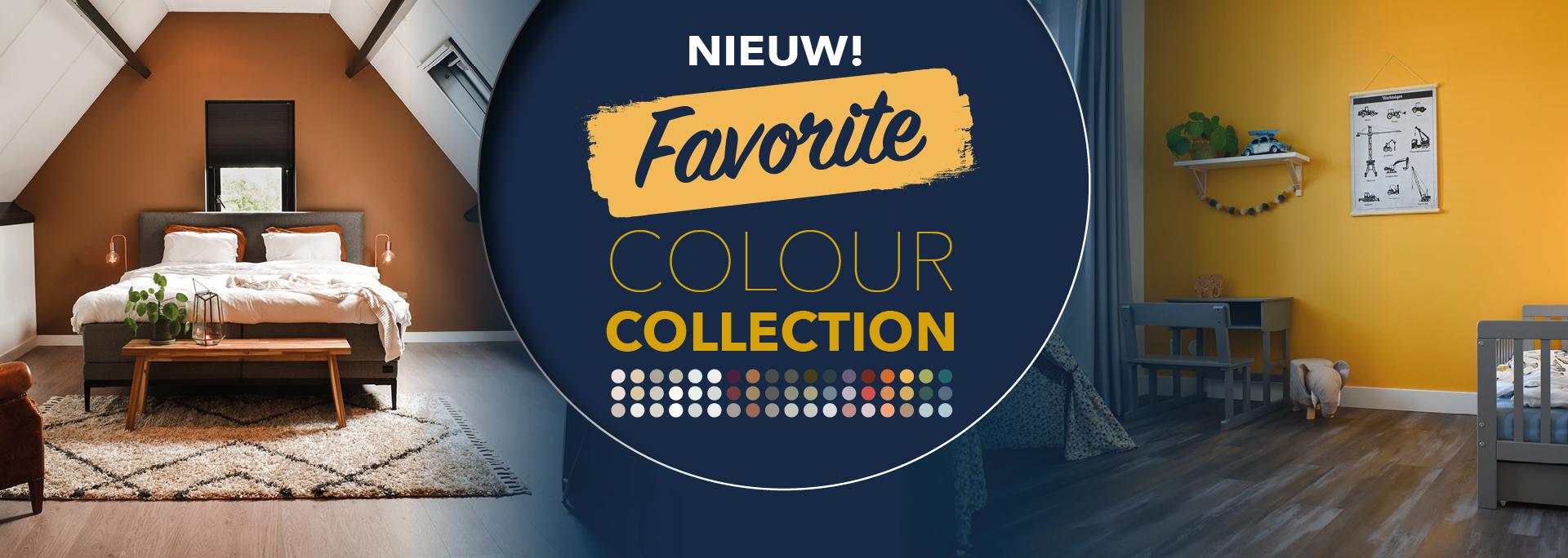 Kleurencollectie Anker Stuy Favortie Colour Collection