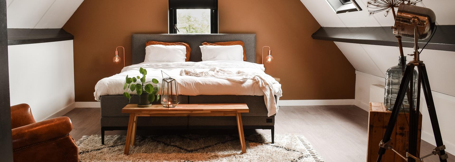 Muurverf slaapkamer