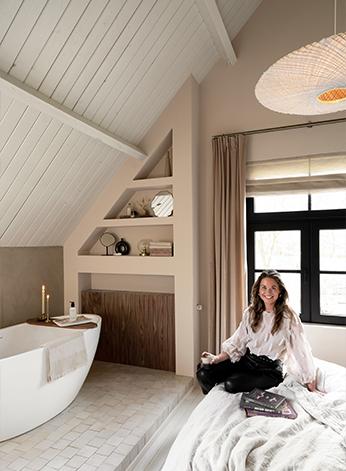Slaapkamer Tanja van Hoogdalem